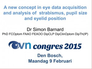 A new concept in eye data acquisition